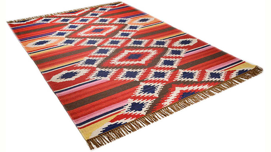 Teppich, Theko Harmony, »Kelim Royal 4«, handgearbeitet