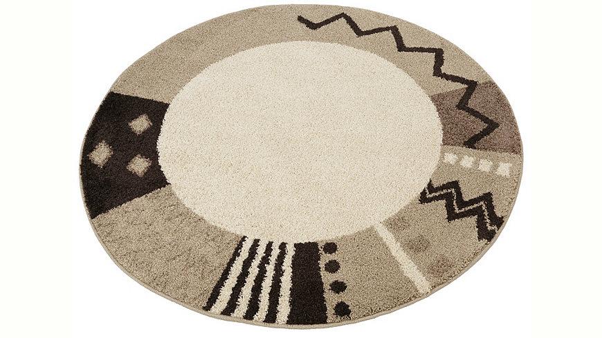 Jetzt Teppich, rund, Home affaire Collection, »Amarillo«, gewebt ...