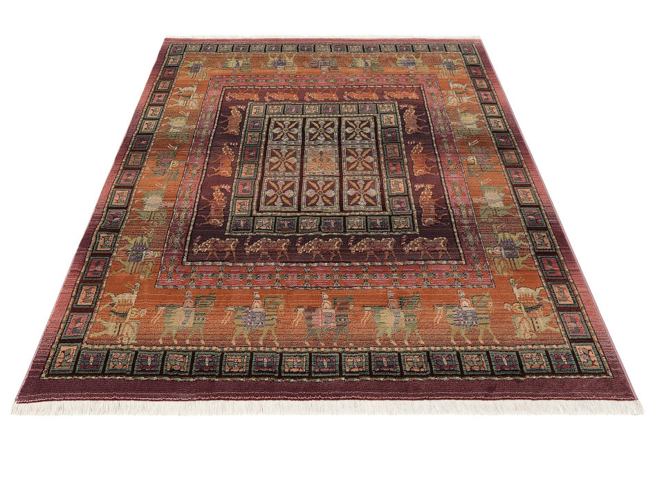 Oriental Weavers orientalischer Teppich blau, 115x170cm, »Gabiro Pazyryk«