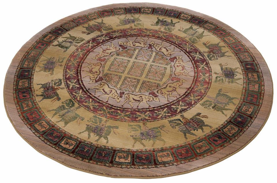 Oriental Weavers orientalischer Teppich »Gabiro Pazyryk« blau, rund, Ø 200cm